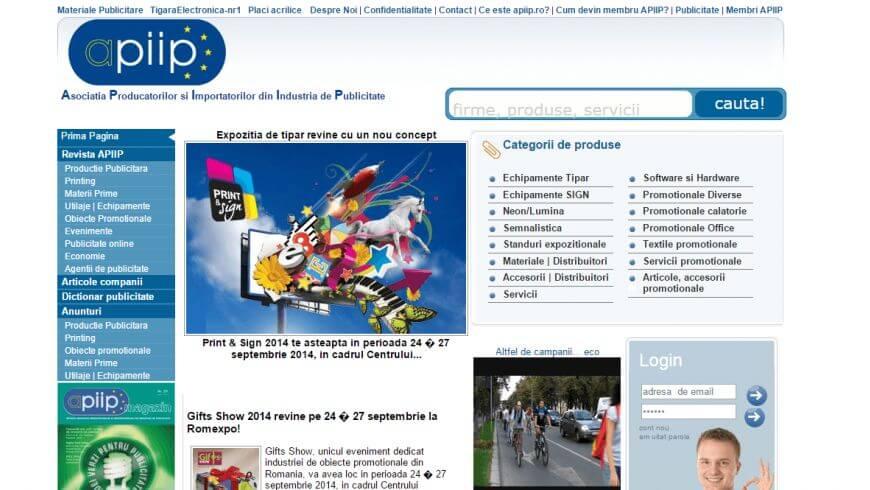APIIP - Asociatia Producatorilor si Importatorilor din Industria de Publicitate