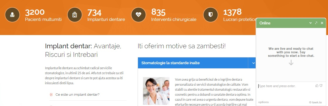 iAgency Web Design | clinica stomatologica Bucuresti