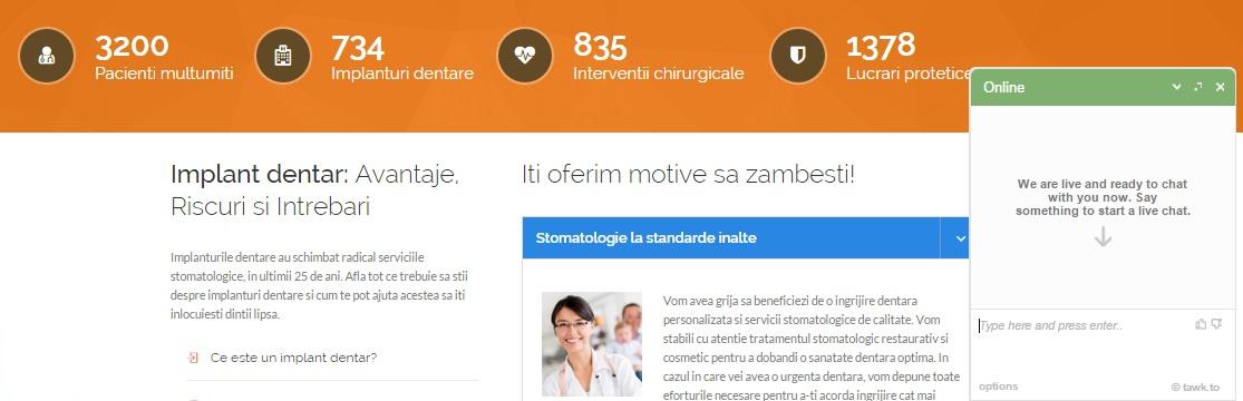 iAgency Web Design | clinica stomatologica Bucuresti